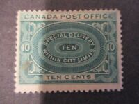 Canada #E1 DG Mint Hinged- (LB8) WDWPhilatelic