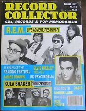 Record Collector 216 August 1997 - REM, Elvis
