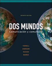 Workbook/Lab Manual Part A to accompany Dos mundos (Cuaderno De Actividades)