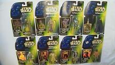 Star Wars POTF Lot of 8 New Figures ASP-7 LEIA 2-1B LUKE BOSSK PONDA REBEL FLEET