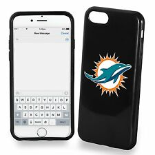 For iPhone 7 PLUS Large Model Miami Dolphins TPU Soft Gel Protective Case