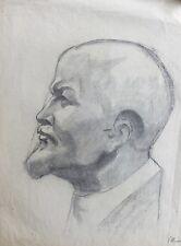 Portrait-testa-Lenin-DISEGNO - DDR Arte-FIRMATO
