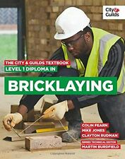 The City & Guilds Textbook: Level 1 Diploma in Bricklaying New Paperback Book Ma