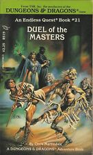 DUNGEONS & DRAGONS-DUEL OF THE MASTERS-ENDLESS QUEST SOLO-TSR-FIGHTING FANTASY