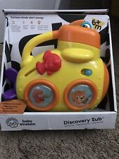 Baby Einstein Discovery Sub Musical Toy Ages 6 Months & Up Nib 75 Tunes & Light