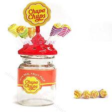 Dollhouse Miniature Lollipop Sweet Candy Chupa chups Bottle 1:12 Accessories