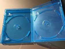 Empty Replacement Double-Disc Blu-Ray Case