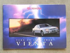 TOYOTA CAMRY VIENTA 1995 SEDAN WAGON 3.0 V6 Auto Owners Sales Brochure Booklet