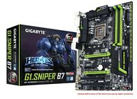 Gigabyte G1.Sniper B7 Motherboard, LGA1151, DDR4, Intel B150, ATX