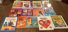 Lot Of 13 Children's Craft Art Books Elementary School Teacher Homeschool