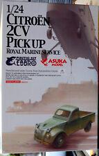 195x Citroen 2 CV Pickup (Fourgonette) Royal Marine Service 1:24 Asuka 32-001
