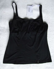 Panache Size 28HH Anna Underwired Non Padded Tankini Top Black
