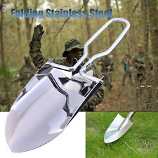 Folding Camp Shovel   Entrenching Tool Steel Spade Compact Mini Outdoor Survival