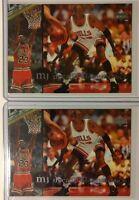 Rare: Lot of 2: MICHAEL JORDAN 1994 Upper Deck, Decade of Dominance #J6