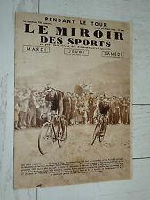 MIROIR SPORTS 1935 N°839 CYCLISME TOUR FRANCE MAES VERVAECKE ARES LUCHON