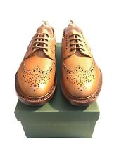 FREE P&P alfred sargent lidgate brown pebble grain brogue with a leather sole 8