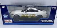 Maisto Special Edition 1/18 Scale 2015 FORD MUSTANG GT POLICE / New