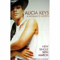ALICIA KEYS RIESENPOSTER GIANT POSTER A WOMAN'S WORTH - ca. 150x100cm