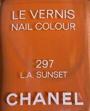 chanel nail polish 297 LA SUNRISE rare limited edition VINTAGE