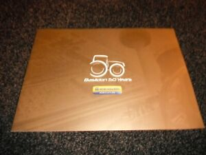 FORD/NEW HOLLAND TRACTORS 'BASILDON 50 YEARS' 1964-2014 COMMEMORATIVE BROCHURE