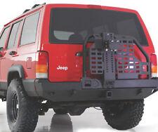 SMITTYBILT 1984-2001 Jeep Cherokee XRC Rear Bumper w/ Tire Carrier & Hitch 76851