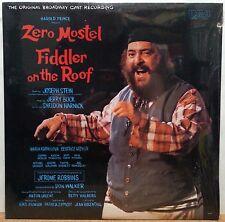 FIDDLER ON THE ROOF ORIGINAL BROADWAY CAST RECORDING LP (LSO-1093) 1964 SEALED!