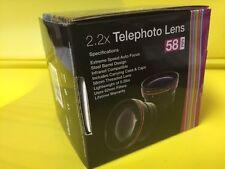 2.2X TELEPHOTO LENS 58mm SERIES 1,VIVITAR to NIKON TAMRON 28-80 MINOLTA PENTAX