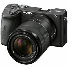 Sony ILCE-6600B a6600 Mirrorless Interchangeable-Lens Camera + 18-135mm Lens