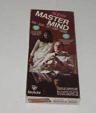 Vintage SUPER MASTER MIND Game Original Box 1975 Invicta R14570