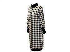Ballonkleid Langarm Stick Winter Kleid Abendkleid Damen Extravagant