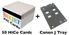 Inkjet PVC ID Card Starter Kit - Canon J Tray - MG5420, MX922, MG7120,iP7230 Etc