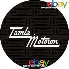 """Ltd. Edition DANSETTE Tamla Motown  7"""" OR 10"""" INCH Turntable / Platter MAT  new!"""