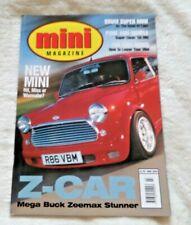 MINI MAGAZINE MARCH 2000 ZEEMAX STUNNER. NEW MINI