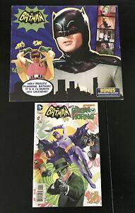 BATMAN CLASSIC TV SERIES 2014 CALENDAR & BATMAN 66 MEETS THE GREEN HORNET #1 VF