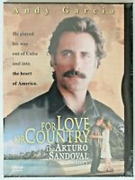 DVD R1 NTSC - For Love or Country The Arturo Sandoval Story - Sealed