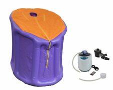 Mini-Dampfsauna Violet / Orange,Elekt. Geregeltem Générateurs de Vapeur 2 Liter