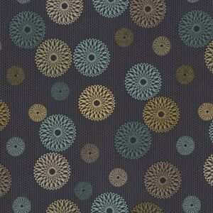 Crypton® Architex Lennon Just Because Blue, tan,teal Geometric Upholstery Fabric