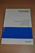 Werkstatthandbuch Service Volvo S40 V40 Elektronische Startsperre 1996 Reparatur