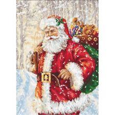 Gobelin Needlepoint Tapestry embroidery kit Santa Claus Luca-S Petit point