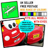 N.E.stickers BOTH Personalised Number Plates TO FIT Little Tikes Cozy Coupe car