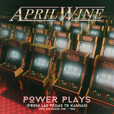 APRIL WINE - Power Plays (From Las Vegas To Kansas) Live On Radio.. 2CD - 732055
