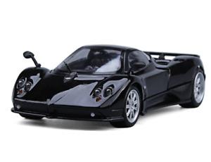PAGANI ZONDA F BLACK 1/18 DIECAST CAR MODEL BY MOTORMAX 79159