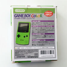 Green Console Box Paper Package For Nintendo Game boy Color GBC