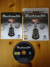 RockSmith Play with Guitar & Bass PS3 GAME ONLY **FREE UK POST!!** Rock Smith
