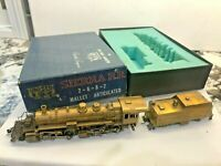 HO BRASS United Sierra RR 2-6-6-2 Mallet Articulated Loco and Tender