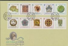 Isle of Man 2014 Celtic Cycle/150th Birth Anniv Archibold Knox SG1895a/1900a FDC