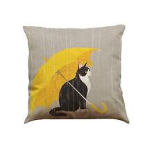 Retro Cute Cat Sofa Bed Home Decoration Festival Pillow Case Cushion Cover Throw