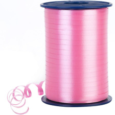 Morex Poly Crimped Curling Ribbon, 3/16-Inch by 500-Yard, Light Pink