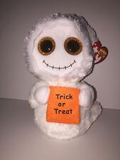"""TY MIST GHOST 6"""" BEANIE BOOS-NEW, MINT TAG ** SUPER CUTE**IN HAND**SHIP NOW"""