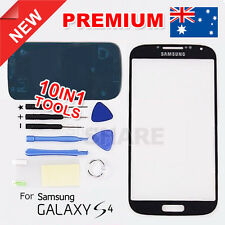 OZ Black Lens Outer Glass Screen Replacement for Samsung Galaxy S4